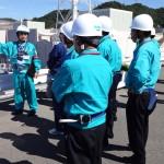 島根原子力発電所視察フォト
