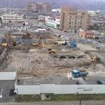 出雲市役所旧庁舎解体工事の進捗について
