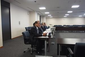 行財政改革特別委員会へ市長が出席