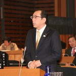 一般質問「行財政改革へ取り組むにあたっての体制づくりについて」2013-12-03