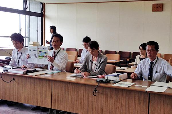 神奈川県海老名市を視察