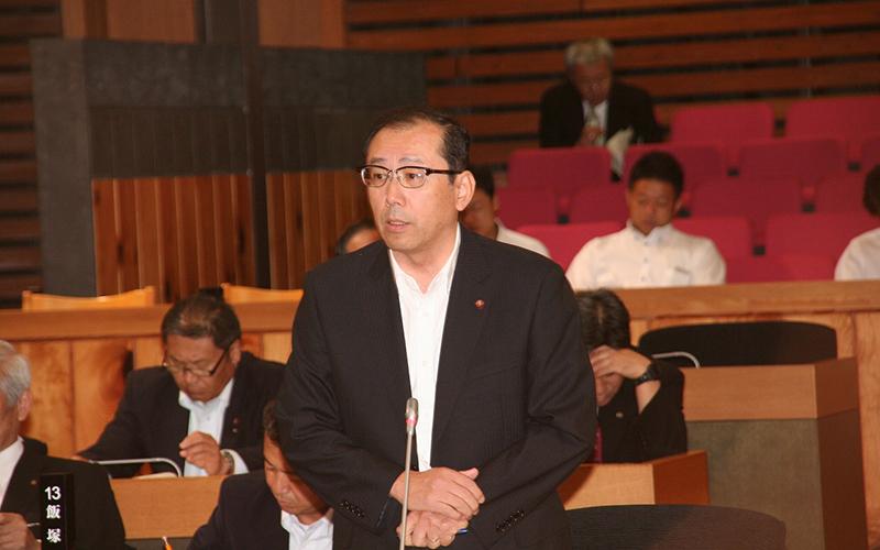 2015年9月議会一般質問:湯浅啓史